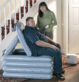 Portable Air Inflating Lifts For Patient Falls And
