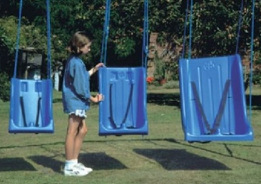 The High Backed Full Support Swing Sets offer a roomy, comfortable and safe ...