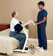 Unique And Portable Patient Lifts Assist Patient And